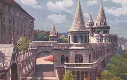 CARTOLINA - POSTCARD - UNGHERIA - BUDAPEST - LO STORICO , BASTIONE DEI PESCATORI - Ungheria