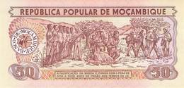 50 Meticais Mocambique 1986 UNC - Mozambique