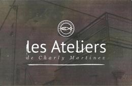 Carte De Visite - Les Ateliers De Charly Martinez - Vic-le-Comte (63) : Cours, Stages, Peinture, Sculpture, Design - Cartes De Visite