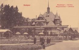 CARTOLINA - POSTCARD - UNGHERIA - BUDAPEST - MARGITSZIGET- KàVèHàZ. - Ungheria