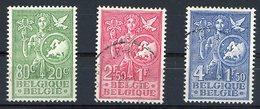 BELGIQUE 1953 N° 927 / 928 / 929 Surtaxe Au Profit Du Bureau Européen De La Jeunesse Et De L'enfance. Voir Description - Gebraucht