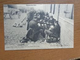 Veurne - Furnes / Guerre 1914, Soldats Belge Jouant Aux Cartes En Attendant L'heure De La Lutte --> Beschreven 1919 - Veurne
