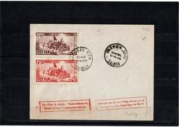 CTN55C - VIET NAM FDC 1/10/1956 - Viêt-Nam