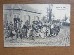 Guerre 1914 / Fantassins Francais Traversant Le Village Des Peruyse .... --> Beschreven 1914 - Diksmuide