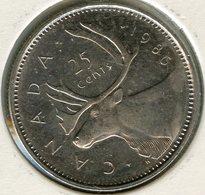 Canada 25 Cents 1986 KM 74 - Canada