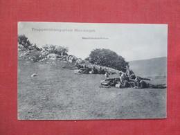 Germany WW1   Spiked Helmets  Machine Guns  Stamp & Cancel     -ref 3413 - War 1914-18