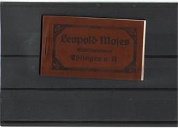 "CTN55C - ALLEMAGNE CARNET ""LEOPOLD MOSES - GELATINEWAREN - BLINGEN A.N.""  18 FEUILLETS NUMEROTES - Documentos Antiguos"