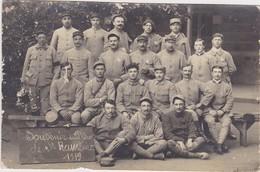 Carte Photo Militaires 1919 Souvenir Du Depot De St Rambert - Saint Just Saint Rambert