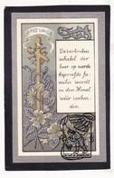 DP Lambertus Sierens / Huyghe ° Oedelem Beernem 1823 † 1894 X Francisca Huyghe - Devotion Images