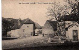 25: MORRE La Route De Besancon Le Village - Andere Gemeenten