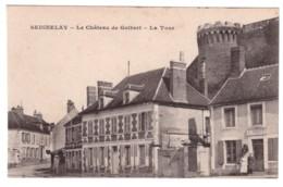 SEIGNELAY - Le Château De Colbert - La Tour (carte Animée) - Seignelay