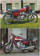 Gf. HONDA CB 750 & SUSUKI 750. 2 Cartes - Motorbikes