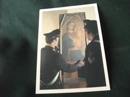 CARABINIERI DEL COMANDO TUTELA PATRIMONIO ARTISTICO CON TELA MADONNA - Uniformi