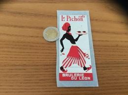 AUTOCOLLANT, Sticker «café Le Pichon - BRÛLERIE DU LÉON - BREST (29)» - Autocollants