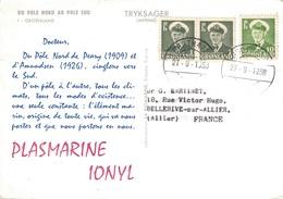 CROISIERE 1959 -  DU POLE NORD AU POLE SUD - IONYL - PLASMARINE - GROENLAND. - Zonder Classificatie
