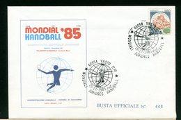 ITALIA - VASTO 1985 - CAMPIONATO MONDIALE JUNIORES HANDBALL '85 - Pallamano