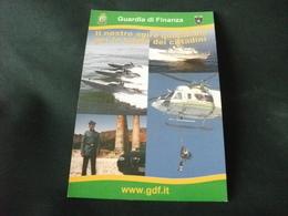 ELICOTTERO   ELICOPTERS  GUARDIA DI FINANZA  MOTOSCAFO BARCA MOTOSCAFO DIVISA - Hélicoptères