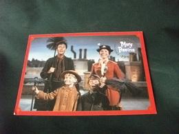 DISNEY MARY POPPINS 35° ANNIVERSARIO CARD CELEBRATIVA PIEGHETTA ANG. - Disney