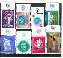 VV383 VEREINTE NATIONEN UNO GENF 1969 Michl 1/8 Mit TABS ** Postfrisch  ZÄHNUNG SIEHE ABBILDUNG - Genf - Büro Der Vereinten Nationen