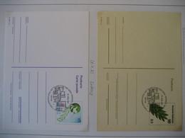 Vereinte Nationen Wien- FDC Inlands Postkarte, FDC Auslands Postkarte - FDC