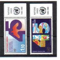 VV368 VEREINTE NATIONEN UNO GENF 1991 Michl 188/89 Mit TABS ** Postfrisch  ZÄHNUNG SIEHE ABBILDUNG - Genf - Büro Der Vereinten Nationen