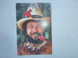 CARLOS CP Avec Autographe ; Ref CP01 - Chanteurs & Musiciens