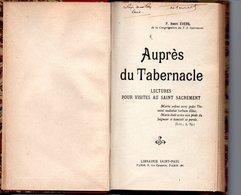 Auprés Du Tabernacle  LECTURES POUR VISITES AU SAINT SACREMENT - Religion