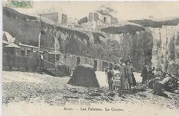 80, Somme, AULT, Les Falaises - Le Casino, Scan Recto Verso - Ault