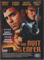 """DVD Film """"une Nuit D'enfer"""" HEITEL/CLOONEY/TARANTINO/LEWIS - Krimis & Thriller"""
