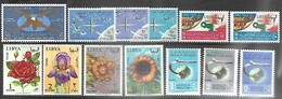 Libya 1965   Sc#275, 282-3, 288-90 Sets MNH   2016 Scott Value $4.50 - Libya