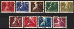 UNGHERIA - 1947 - GRANDI UOMINI - PATRIOTI UNGHERESI - USATI - Ungheria
