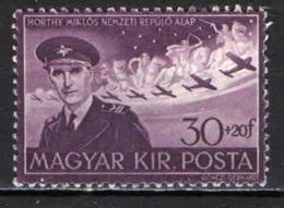UNGHERIA - 1943 - ANNIVERSARIO DELLA MORTE DEL VICE REGGENTE - USATO - Ungheria