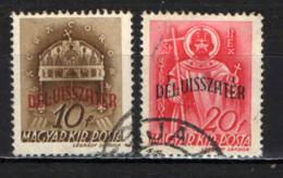 UNGHERIA - 1941 - LA SANTA CORONA DELL'UNGHERIA CON SOVRASTAMPA - USATI - Ungheria