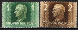 UNGHERIA - 1941 - AMMIRAGLIO NICHOLAS HORTY - USATI - Ungheria