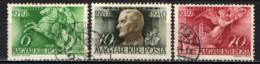 UNGHERIA - 1940 - 20 ANNI DI REGGENZA DELL'AMMIRAGLIO HORTHY - USATI - Ungheria