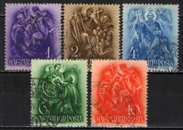 UNGHERIA - 1938 - 9° CENTENARIO DELLA MORTE DI SANTO STEFANO - USATI - Ungheria