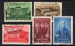 UNGHERIA - 1938 - 4° CENTENARIO DELLA FONDAZIONE DELL'UNIVERSITA' DI DEBRECEN - USATI - Hungría