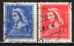 UNGHERIA - 1932 - SANTA ELISABETTA - USATI - Ungheria