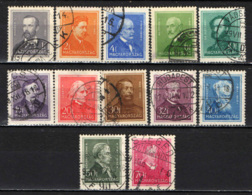 UNGHERIA - 1932 - PERONALITA' - USATI - Ungheria
