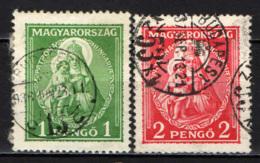 UNGHERIA - 1932 - MADONNA CON BAMBINO - USATI - Ungheria