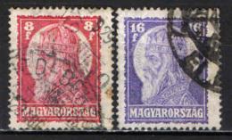 UNGHERIA - 1928 - SANTO STEFANO - USATI - Ungheria