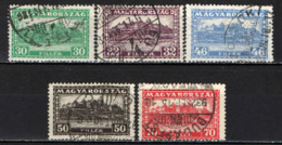 UNGHERIA - 1928 - PALAZZO REALE A BUDAPEST - USATI - Gebraucht
