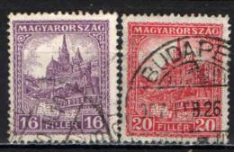 UNGHERIA - 1928 - CATTEDRALE DI SAN MATTIA - USATI - Ungheria