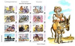 Espagne Feuille 12 TP MP61B  Don Quichote N** - Hojas Conmemorativas