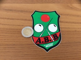 AUTOCOLLANT, Sticker «ABB - BREST (29) » (Association Billard Brestois) - Autocollants