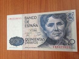 500 Pesetas - NEUF - [ 4] 1975-… : Juan Carlos I