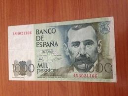 1000 Pesetas 1979- Tres Belle Etat - [ 4] 1975-… : Juan Carlos I