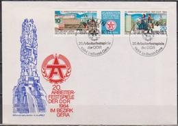 DDR FDC1984 Nr.2880 - 2881 Arbeiterfestspiele Der DDR  (d 4670 )günstige Versandkosten - FDC: Briefe