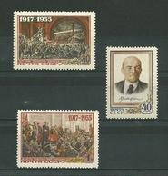 URSS. 1955. 38ème Anniversaire De La Révolution D'octobre - 1923-1991 USSR