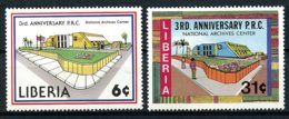 Liberia, 1983, National Archives, MNH, Michel 1278-1279 - Liberia